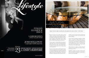 Beverly Hills Lifestyle Magazine -- CLARK Functional Article Fall 2009