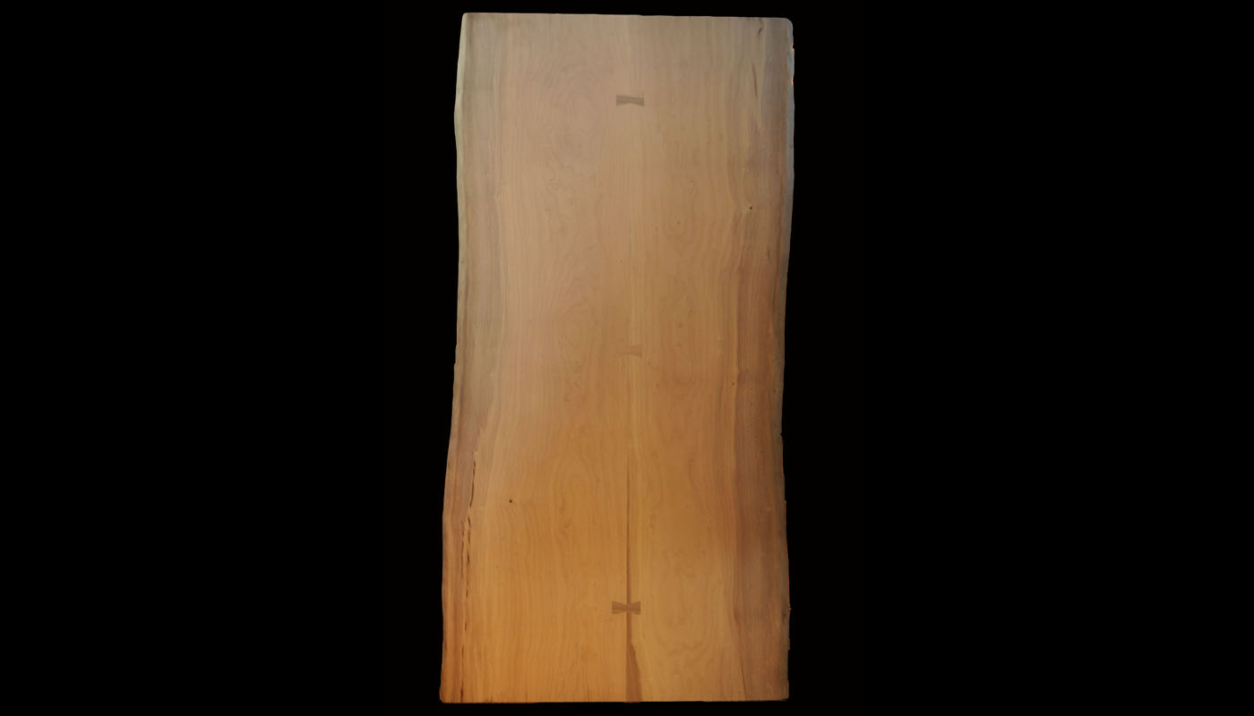 Book-matched Live-edge Myrtle 96x48 cw